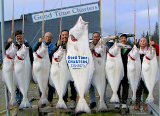 Halibut fishing is our main attraction
