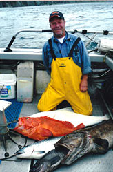 Halibut  	Charter Fishing Trips